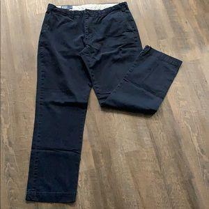 Ralph Lauren Navy blue Chinos 38x34